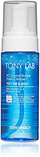 TONYMOLY  AC Control Bubble Foam Cleanser, 5 Fl Oz (Tony Moly Clean Dew Aloe Foam Cleanser Review)