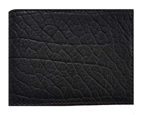made fold Proudly Wallet Black Bi the in USA Leather American Rugged Buffalo qRXWC8