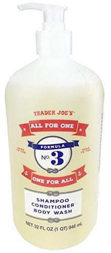 Trader Joes Formula Shampoo Conditioner