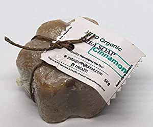 TFD Organic Shea soap with Cinnamon 50gms