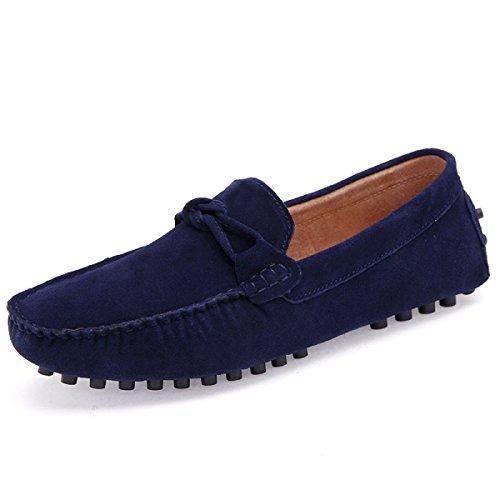 Calzado Casual CHT Sandalias De Los Hombres De Verano Perezoso Blue