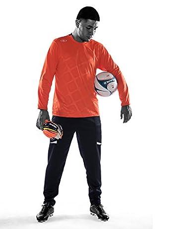 d8e48b1defb Amazon.com: Xara Instigator Goal Keeper Jersey - Orange - YL: Clothing