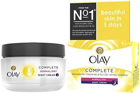 Olay Complete 3In1 Moisturiser Night Cream 50Ml