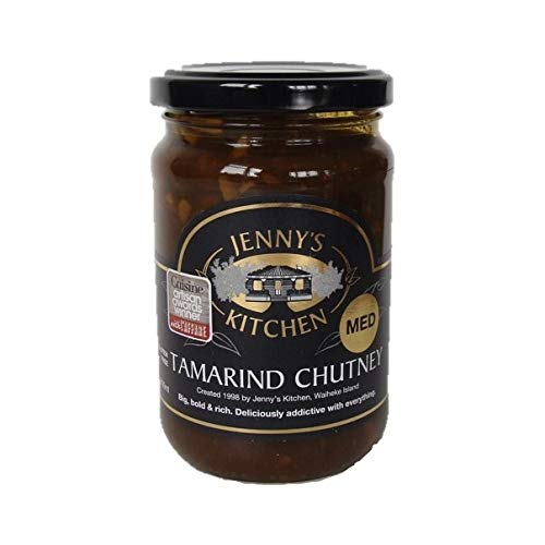 (Tamarind Chutney, Hand Made with Real Ingredients, Deliciously Addictive (med) )