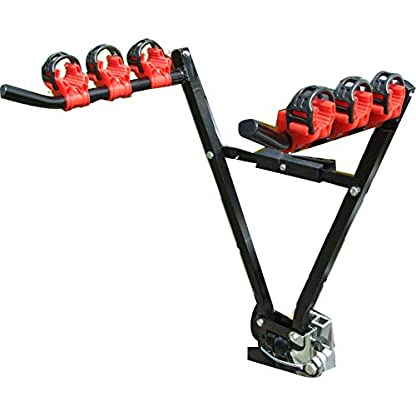 Streetwize 3 Bicycle Carrier Towball Fitting 2