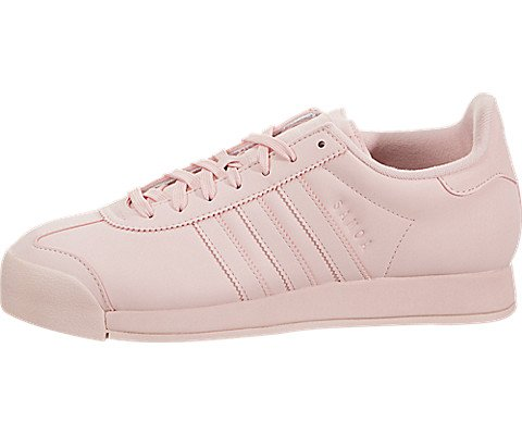 adidas Originals Women's Samoa + W, Ice Pink/Ice Pink/White, 7 Medium US