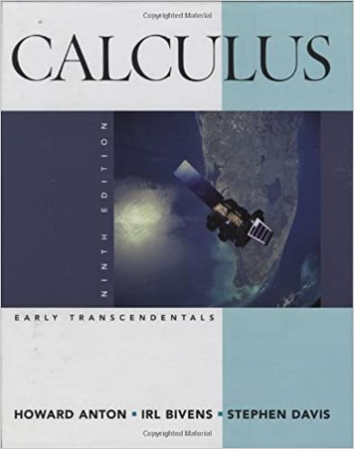 calculus early transcendentals 9th edition