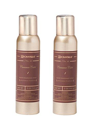 Aromatique Two (2) 5 Ounce Room Fragrance Sprays - Cinnamon Cider