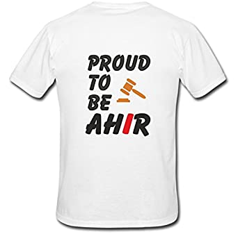 Proud to be a Ahir Graphic Printed T-Shirt