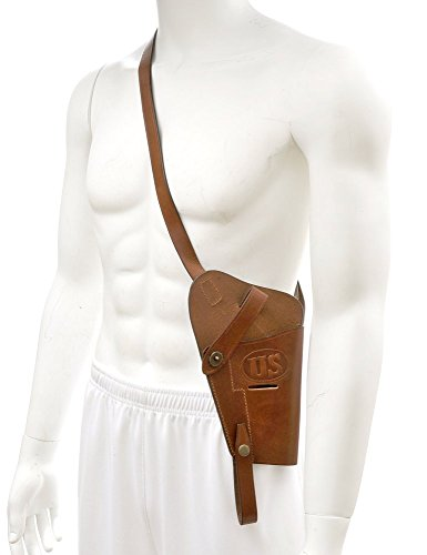 - World War Supply US M3 .45 Shoulder Holster Tanker Holster for Colt M1911 and Similar Sized Semi Autos