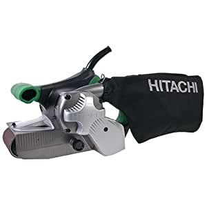Hitachi SB8V2 9.0 Amp 3-Inch-by-21-Inch Variable Speed Belt Sander with Trigger Lock and Soft Grip Handles