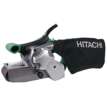 hitachi belt sander. hitachi sb8v2 3 -inch-by-21 -inch variable speed belt sander i