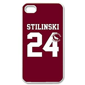wugdiy DIY Case Cover for iPhone 4,4S with Customized Teen Wolf