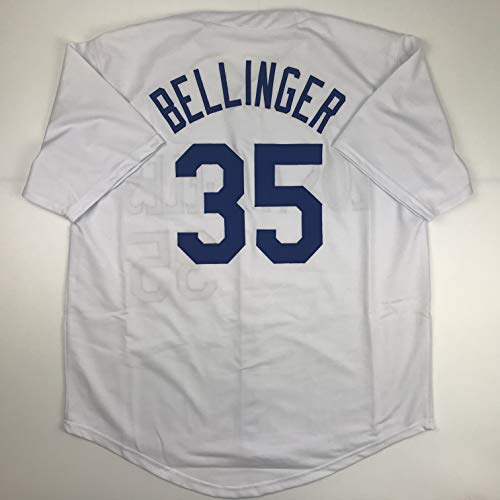 Unsigned Cody Bellinger Los Angeles LA White Custom Stitched Baseball Jersey Size Men's XL New No Brands/Logos ()