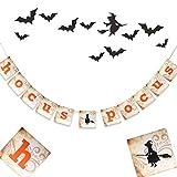 Hocus Pocus Banner, Halloween Decoration Banner, Allhallows Party Banner,Halloween Boo Bash Banner, Hocus Pocus Banner Decorations,Zombie Party,Trick or Treat Party Banner,Happy Halloween Banner