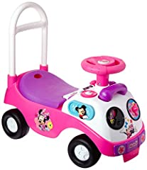 The Disney Minnie Mouse My First Activity Ride-On is perfect for tots on the move. Toddlers aged one to three will love scooting about on this sturdy ride-on toy, It features lights, sounds and pictures of Minnie Mouse. Why we love the Disney...