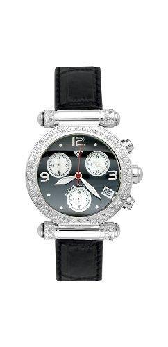 NEW! Aqua Master Ladies' Round Diamond Watch, 0.85 ctw by Aqua Master