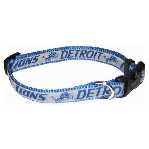 Pets First NFL Detroit Lions Pet Collar, Large
