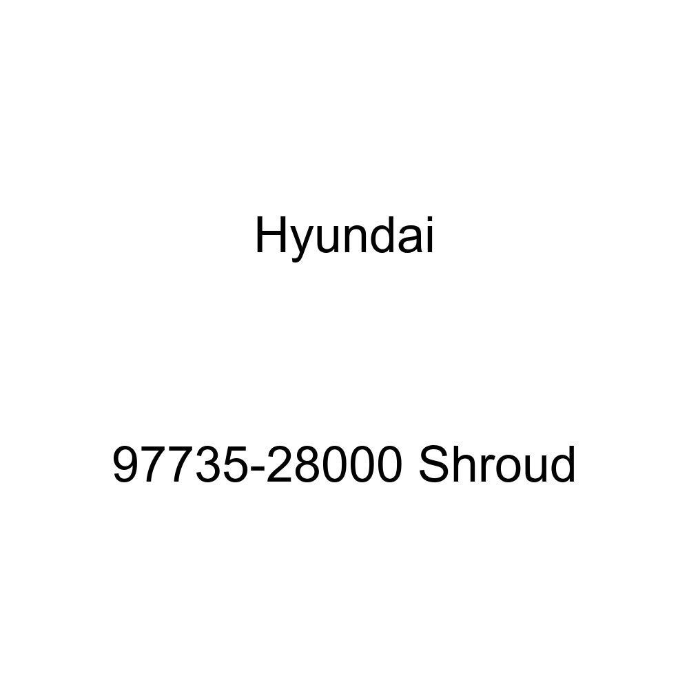 Genuine Hyundai 97735-28000 Shroud