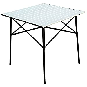 Timber Ridge Portable Roll Up Aluminum Camping Folding Table