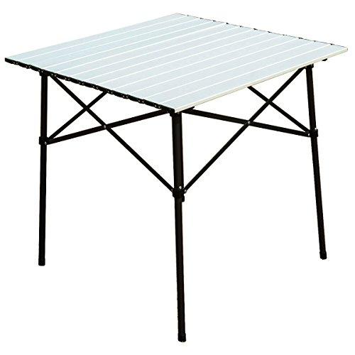 Timber Ridge Roll-Up Aluminum Camping Folding Table