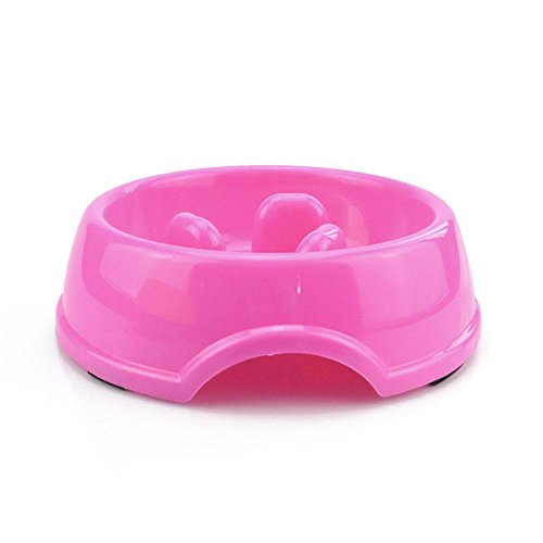 Pawaca Dog Bowls Slow Feeder Non-Slip Drink Water Bowl, Safe and Healthy Bowl for Dogs, Control Eating Speed, Reduce Stomach Pressure, Control Pet Weight