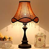 Best to Buy Table Lamp,European Style Bedside Lamp Princess Pastoral Creative Wedding Luxury Restaurant Decoration Table Lamp (Luxurious Style)