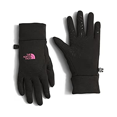 The North Face Women's Etip Hardface Gloves (Sizes XS - M) - black/pink, s