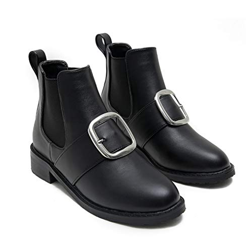 - Eric Carl Womens Fashion Round Toe Low Heel Ankle Boot