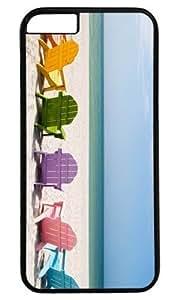 Beach Chair DIY Hard Shell Black Best Designed iphone 6 plus Case Kimberly Kurzendoerfer