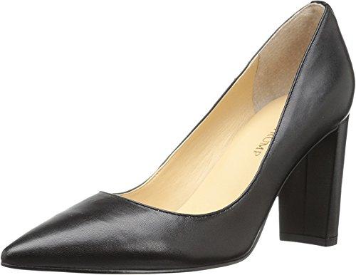 Ivanka Trump Women's Katie Dress Pump, Black Leather, 5.5 M US