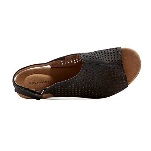Rockport Women's Briah PERF Sling Wedge Sandal