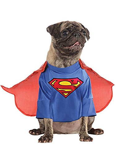 DC Comics Pet Costume, Medium, Superman -