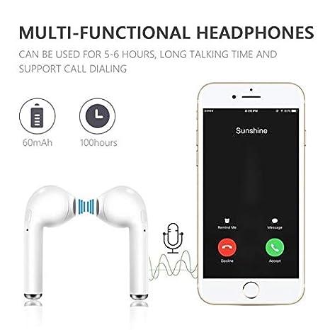Auriculares Inalambricos Bluetooth i11 TWS 4.2 + Caja de Carga: Amazon.es: Electrónica
