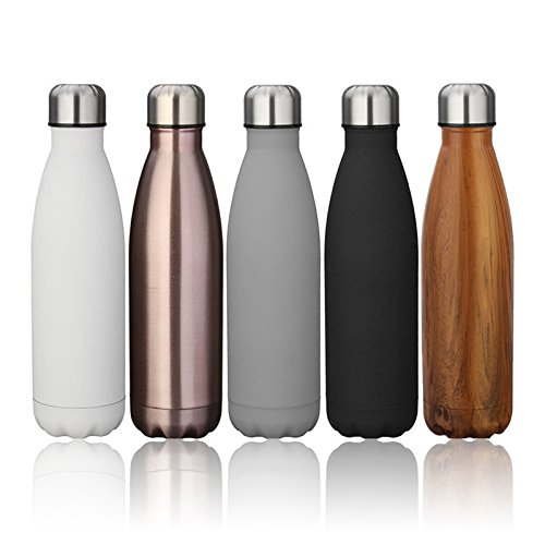 ARC fitness project 17oz Double Wall Vacuum Cool Insulation Stainless Steel Water Bottle Leak-Proof and No Sweating