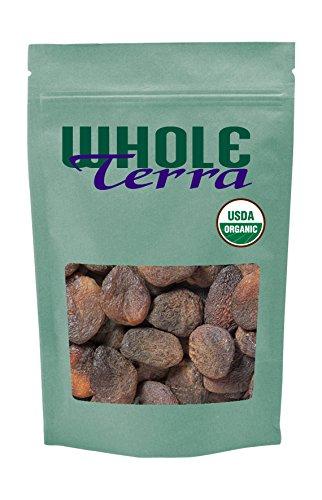 Whole Terra Organic Turkish Apricots Sulfite Free