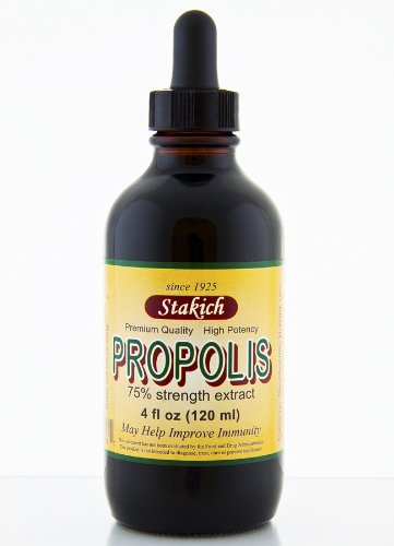 Stakich PROPOLIS 4 oz Liquid Extract, 75% - Top Quality