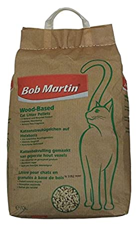 BOB MARTIN Arena de madera para gatos, 10 litros: Amazon.es: Productos para mascotas