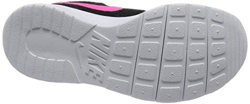 NIKE Kids Tanjun (GS) Black/Hyper Pink White Running Shoe 4 Kids US by Nike (Image #3)