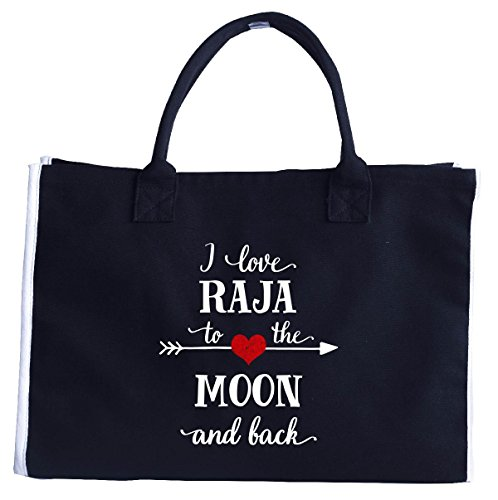i-love-raja-to-the-moon-and-backgift-for-girlfriend-fashion-tote-bag