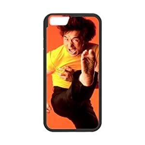 iPhone 6 Case, [ Jackie Chan] iPhone 6 (4.7) Case Custom Durable Case Cover for iPhone6 TPU case(Laser Technology) by mcsharks