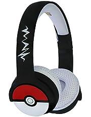 OTL Technlogies Pokemon Pokeball Kids draadloze hoofdtelefoon voor kinderen (officieel licentieproduct)