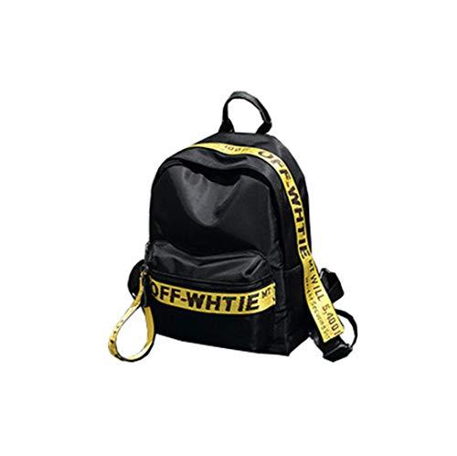 borsa borse skitor quotidiane Zaino Zaino dolce borsa pelle scuola bambina laptop donna per piccola vintage carina impermeabile casual nere per scuola 6b7gyf