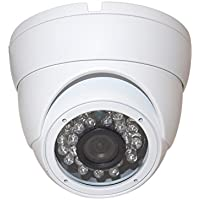 Evertech 700 TVL Day Night Vision 24 IR Camera Vandal Proof Indoor & Outdoor 1/3 Sony Super HAD CCD, 90 Degree Wide View Angle Lens Security Surveillance Camera