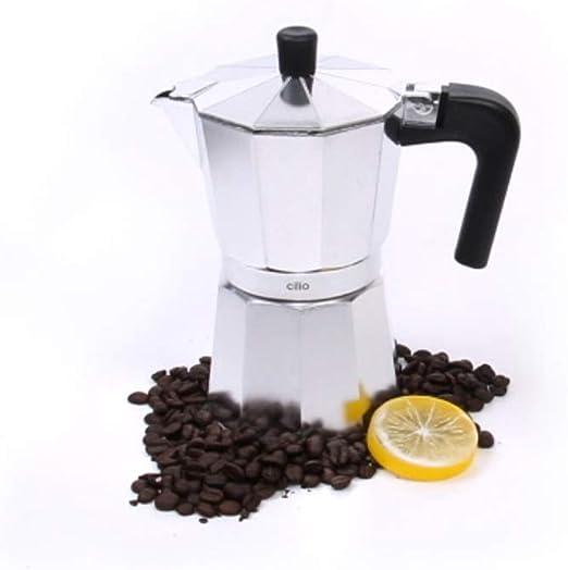 Cilio 321272 - Cafetera (Independiente, Cafetera turca, De café molido, Aluminio): Amazon.es: Hogar