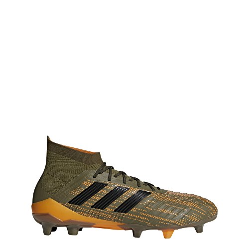 Fg 1 orange Da Predator oliv Calcio Oliv Marrone Uomo 18 Scarpe orange Adidas Hqt1nS