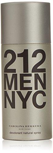 Men Deodorant 212 - Carolina Herrera 212 Men Deodorant Spray 5.1oz (150ml)