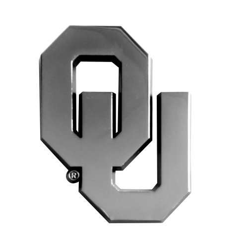FANMATS  14923  NCAA University of Oklahoma Sooners Chrome Team Emblem by Fanmats