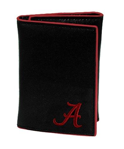 (Sports Team Accessories Alabama Crimson Tide Men's Leather Tri-fold Wallet)
