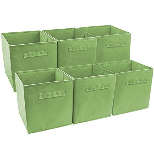 storage baskets green - 1